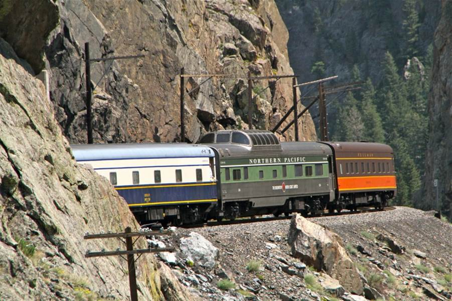 excursion through Upper Gore Canyon